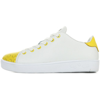 Schoenen Kinderen Sneakers Smiley Enjoy Wit