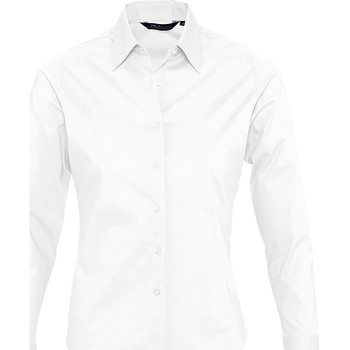 Textiel Dames Overhemden Sols EDEN ELEGANCE Blanco
