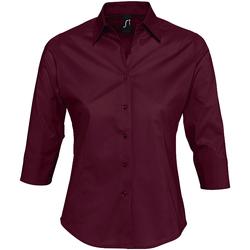Textiel Dames Overhemden Sols EFFECT ELEGANT violeta