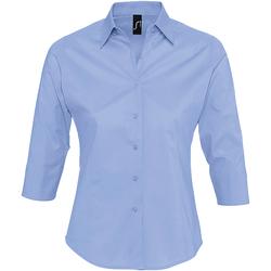 Textiel Dames Overhemden Sols EFFECT ELEGANT Azul