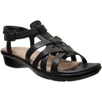 Schoenen Dames Sandalen / Open schoenen Clarks Loomis katey Zwart leer