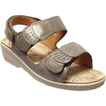 Schoenen Dames Sandalen / Open schoenen Mobils By Mephisto Roselie sp Taupe leer