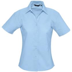 Textiel Dames Overhemden Sols ELITE OXFORD Azul
