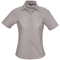 Textiel Dames Overhemden Sols ELITE OXFORD Plata