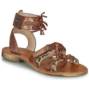 Schoenen Meisjes Sandalen / Open schoenen Catimini CABRI Bruin