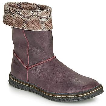 Schoenen Meisjes Hoge laarzen Ramdam CRACOVIE Bordeau