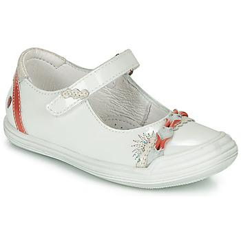 Schoenen Meisjes Ballerina's GBB MARION Wit