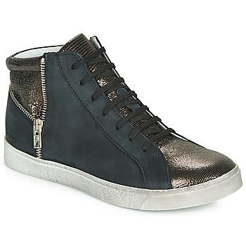 Schoenen Meisjes Hoge sneakers Achile CARLA Zwart