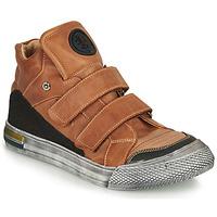 Schoenen Jongens Hoge sneakers Achile HUGO Bruin
