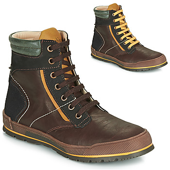 Schoenen Jongens Laarzen Achile MANUEL Bruin