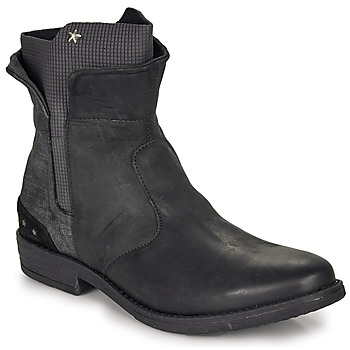 Schoenen Meisjes Laarzen Ikks PAMELA Zwart