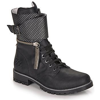 Schoenen Meisjes Hoge laarzen Ikks PEGGY Zwart
