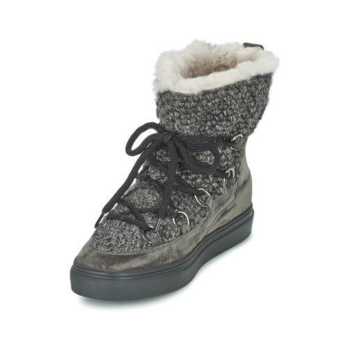 Kennel + Schmenger Pietru Grijs - Gratis Levering Schoenen Hoge Sneakers Dames 21520