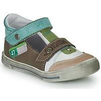 Schoenen Jongens Sandalen / Open schoenen GBB PEPINO Bruin / Beige / Groen
