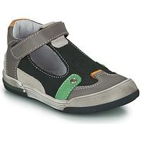 Schoenen Jongens Sandalen / Open schoenen GBB PERCEVAL Zwart / Grijs