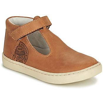 Schoenen Jongens Sandalen / Open schoenen GBB PRESTON Bruin