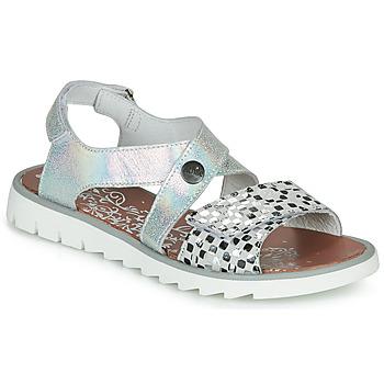 Schoenen Meisjes Sandalen / Open schoenen Achile HIKARI Zilver