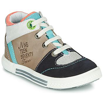 Schoenen Jongens Hoge sneakers Catimini PIMENT Beige