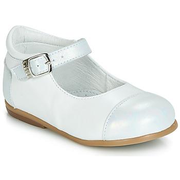 Schoenen Meisjes Ballerina's GBB BELISTO Wit