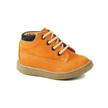 Schoenen Jongens Hoge sneakers GBB NORMAN Oranje