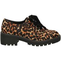 Schoenen Dames Derby Apepazza CARA leopa-leopardo