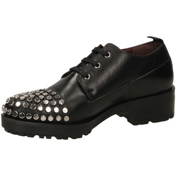 Schoenen Dames Derby Apepazza BROOK nero-nero