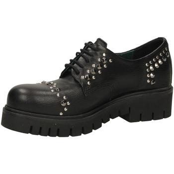 Schoenen Dames Derby Fabbrica Dei Colli STEEL PELLE 00001-nero
