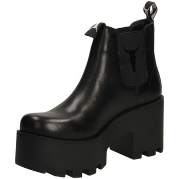 Schoenen Dames Laarzen Windsor Smith HELSINKI black-nero