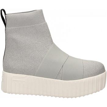 Schoenen Dames Hoge sneakers Fessura HI-LINE KNIT silver-ice