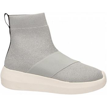 Schoenen Dames Hoge sneakers Fessura HI-TWINS KNIT silver-ice