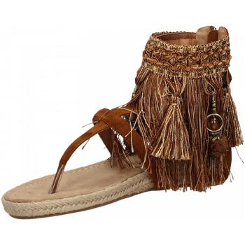 Schoenen Dames Sandalen / Open schoenen La Carrie INDRADITO C.FRANGE brown-marrone