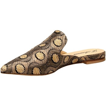 Schoenen Dames Leren slippers L Arianna Shoes POIS taupe-taupe