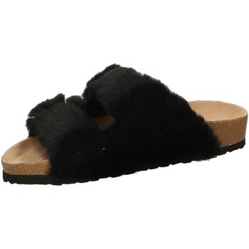 Schoenen Dames Leren slippers Steve Madden SOUL black-nero