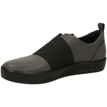 Schoenen Dames Instappers Ecco SOFT 8 L SHINEBRIGHT black-nero