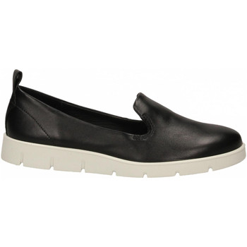 Schoenen Dames Instappers Ecco Bella Black Feathe black-nero