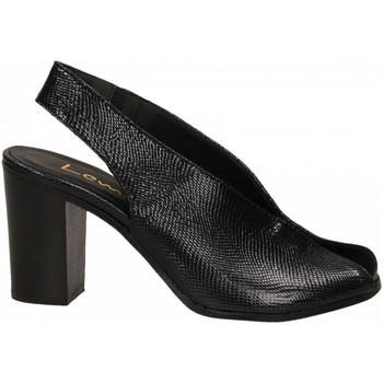 Schoenen Dames Sandalen / Open schoenen Lemaré PITONE/FIESOLE nero