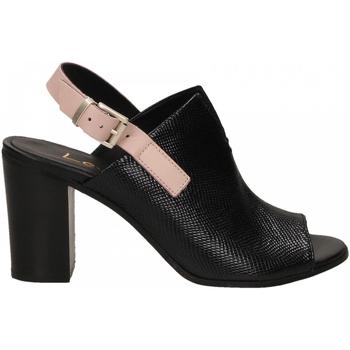 Schoenen Dames Sandalen / Open schoenen Lemaré FIESOLE nero-rosa-3390