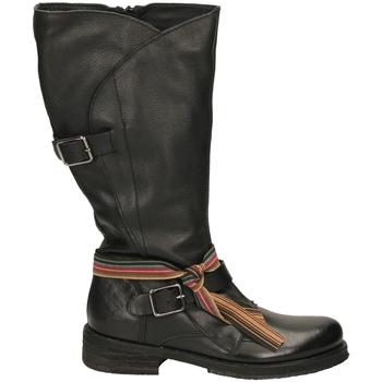 Schoenen Dames Laarzen Felmini TARGOFF 18 nero-nero
