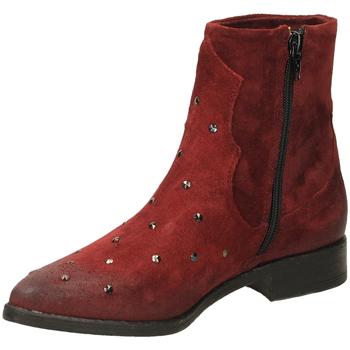Schoenen Dames Enkellaarzen Fabbrica Dei Colli PLAY FOD.PELLE 00034-bordeaux