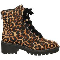 Schoenen Dames Laarzen Apepazza CRISTEL leopa-leopardo
