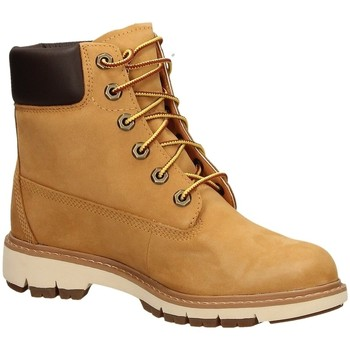 Schoenen Dames Enkellaarzen Timberland LUCIA WAY 6IN WP BOO wheat-giallo