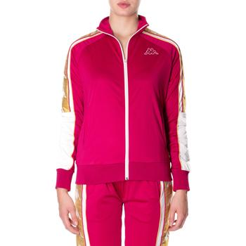 Textiel Dames Sweaters / Sweatshirts Kappa BANDA 10 ANAY 906-rosso-bianco