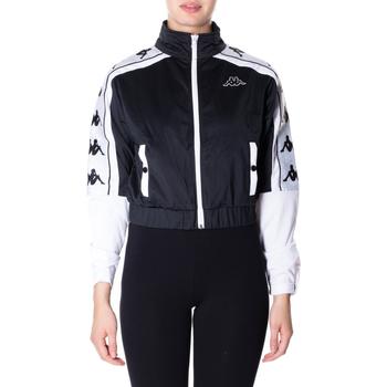 Textiel Dames Sweaters / Sweatshirts Kappa BANDA 10 ANTEY 903-nero-bianco