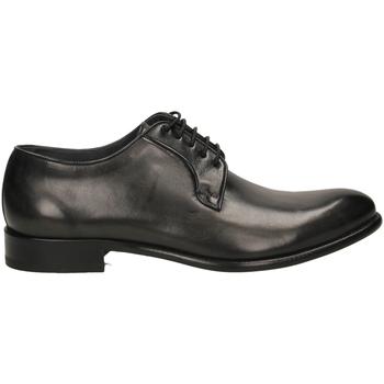 Schoenen Heren Derby Brecos MONTECARLO DELAVE grine-grigio-nero