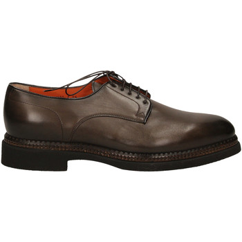 Schoenen Heren Derby Santoni DERBY 5F.TOM.LISCIA tum32-marrone