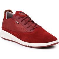 Schoenen Heren Lage sneakers Geox U Aerantis A U927FA-02243-C7004 burgundy