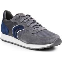 Schoenen Heren Lage sneakers Geox U Vincit B U845VB-02214-C1F4R grey, navy
