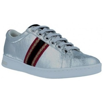 Schoenen Dames Lage sneakers Geox Jaysen D921BA Sneakers de Mujer Zilver