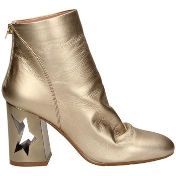 Schoenen Dames Enkellaarzen Tiffi  tawny-platino