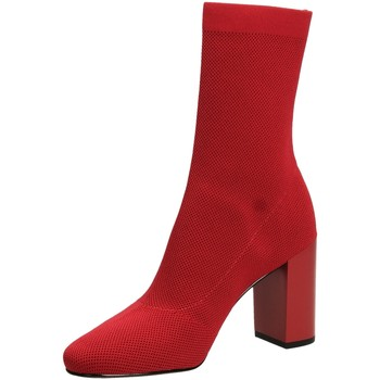 Schoenen Dames Enkellaarzen What For JACK red-rosso